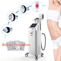 Cavitation RF Freeze Fat Cooling Cold Therapy Slimming Body Weight Loss Machine