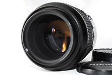 【Excellent】 NIKON AF 105mm F2.8 MICRO NIKKOR MACRO prime Lens From Japan