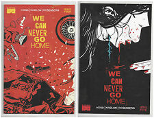 WE CAN NEVER GO HOME #4 & 5 (1st PRINT) Black Mask Young Terrorists 2015 NM