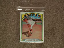 1972 Topps Roger Metzger #217 Astros Baseball Card (Sports, Collectibles)