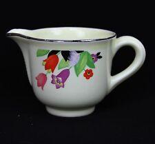 Vintage Hall China Superior Quality Kitchenware Crocus Creamer Cream Pitcher