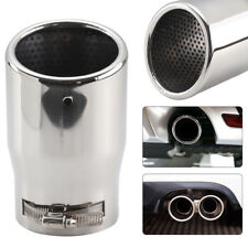 Universal 655 Car Exhaust Tip Trim Tail Performance Sport Muffler End Pipe Stainless Steel Chrome