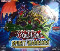 YuGiOh Spirit Warriors, SPWA, Super Rare 1st Edition, Choose from list.