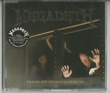 """MEGADETH """"Train of Consequences"""" 6-track Single CD 1994 + Sticker"""