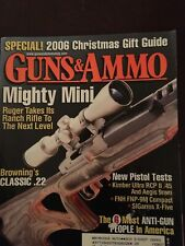Guns & Ammo Dec 2006, Rugers Mighty Mini 14  Ranch  Rifle