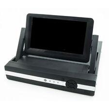 DVR NVR COMBO VIDEOSORVEGLIANZA 4 CH CANALI SCHERMO LCD 7 POLLICI H264