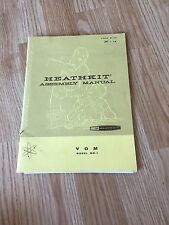 Heathkit Assembly  Manual MM-1 VOM - Manual Only