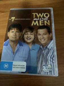 Two And A Half Men : Season 7 (DVD, 2010, 3-Disc Set)