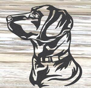 Labrador SIDE VIEW - Steel Metal Garden Wall Art