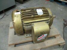 Baldor Super E Ac Motor Em4108t 30hp 3600rpm 230460v 3ph Tefc 286ts Frame Used