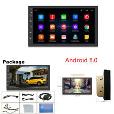 """Universal Android 8.0 7"""" 2 DIN Car GPS Bluetooth MP3 MP5 Player WIFI 1024X600 HD"""