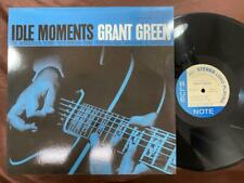 REISSUE! GRANT GREEN IDLE MOMENTS BLUE NOTE BST 84154 STEREO US VINYL LP