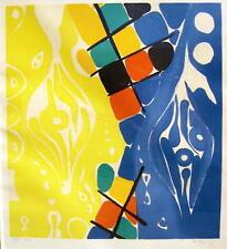 Ernst Wilhelm Nay 1902 - Köln / Farblithographie / Grafik, handsigniert / 1966