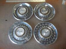 """1967 67 Chrysler Newport Hubcap Rim Wheel Cover Hub Cap 14"""" OEM USED 303 SET 4"""