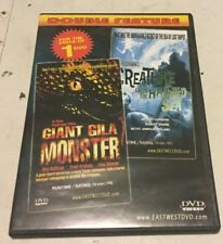 Giant Gila Monster/creature From The Haunted Sea Dvd Double Feature