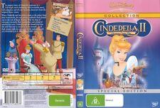 CINDERELLA 2 - DREAMS COME TRUE (Disney) = DVD NEW SEALED = Free Postage