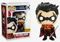 Funko POP! DC Heroes ~ RED WING ROBIN FIGURE ~ HT Exclusive ~ DC Comics