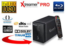 Xtreamer Pro streamer video media player HD 2 HDD slots up to 6tb 120v 220v
