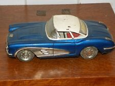 Vintage Tin Friction Corvette 1958