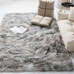 Modern Nordic Tie-dye Gradient Carpet Bedroom Living Room Rectangular Carpet