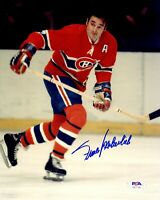 Frank Mahovlich autographed signed 8x10 photo NHL Montreal Canadians PSA COA HOF