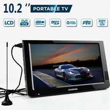 10.2'' 12V Portable DVB-T/DVB-T2 TFT LED HD TV Television Digital Analog AC/DC