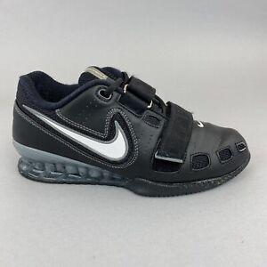 Nike Romaleos 2 Black Olympic Weightlifting Powerlifting Gym Shoes EU38.5 UK5.5