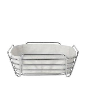 Blomus Delara Wire Serving Basket, Large, Moonbeam - 63758