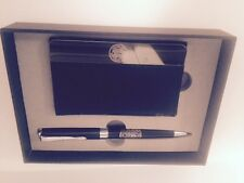 CELTIC FOOTBALL CLUB BUSINESS CARD HOLDER AND PEN SET
