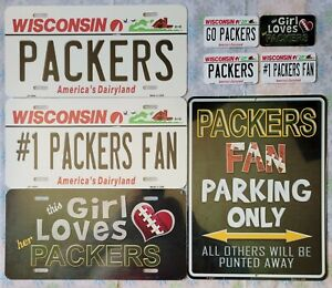 """Green Bay Packers State Background License Plate Magnet Sign """"You Choose"""""""