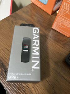 Garmin Vivofit 4 Fitness Watch sz L Black 010-01847-03 Brand new