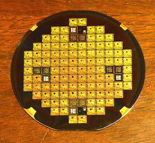 Ultra rare 3 inch Silicon Wafer - The 1970s Bell Labs BellMAC-4 CPU