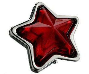 JDM Red Star-Shaped Indicator Marker Lamps Set - 90mm 24V5W