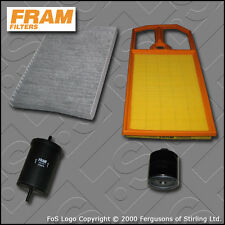 Kit De Servicio De Vw Golf Mk4 (L3) 1.4 16v Fram Aceite Aire combustible filtros de cabine (1997-2005)
