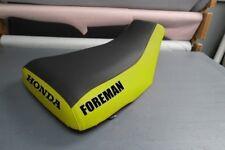 ATV Honda Foreman TRX450S Logo Pink Sides ATV Seat Cover #nw1211mik1210