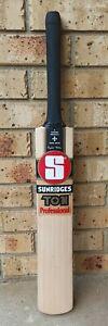SS Sunridges Ton Professional Grade 1 English Willow Cricket Bat - SH - 2lb 9oz