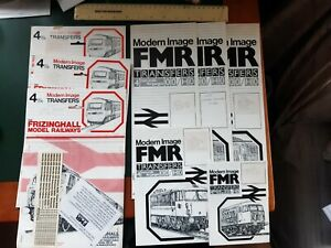 FMR 4mm.transfers - 8 assorted packs
