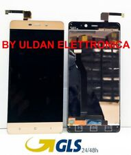 TOUCH SCREEN VETRO + LCD DISPLAY ASSEMBLATI Per XIAOMI REDMI 4 PRO GOLD ORO