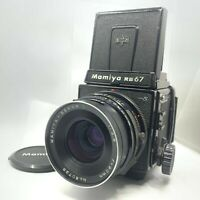 【EXC5】MAMIYA RB67 Pro S + SEKOR C 90mm F/3.8 + 120 Film Back From JAPAN 236