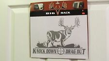 Big Rack Knock Down and Drag Out Decal