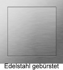Revisionstür Revisionsklappe 180x180mm Tür Klappe Edelstahl gebürstet ODER MAß !