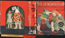 1934 RARE ALICE IN WONDERLAND 156pg Book of Movie