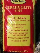 100 LITRE BAG VERMICULITE - HORTICULTURAL FINE GRADE - FREE P&P
