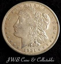 1921 USA Silver Morgan $1 One Dollar Coin