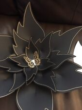 Hard Copy Paper Flower Template #7, DIY Paper Flower Backdrops, Flower Petal