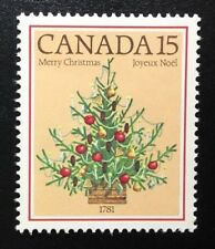 Canada #900 MNH, Christmas - Tree Stamp 1981