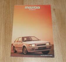 Mazda 323 Turbo 4X4 Brochure Circa 1988