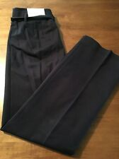 Ann Taylor Loft Laura Straight Leg Casual Blue Belted Pants Size 2 X 30 NWT $69