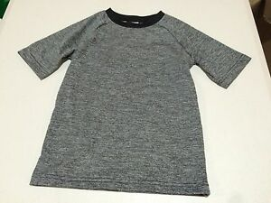 NWT Gymboree Boy Swimsuit Gray Rash Guard Shirt Top UPF 50+ 4,5/6