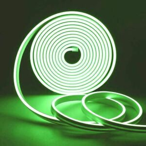 12V Flexible Sign Neon Lights Silicone Tube LED Strip Waterproof 1M 2M 3M 5M